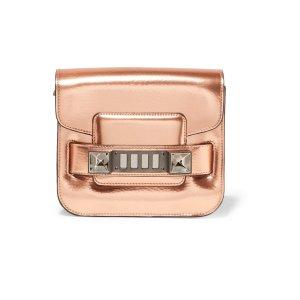 PS11 Tiny metallic leather shoulder bag | Proenza Schouler | US | THE OUTNET