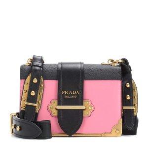 Prada - Cahier leather shoulder bag