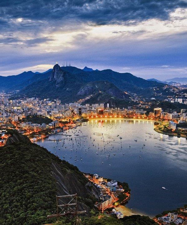 南美不仅拥有世界上最大的高原——巴西