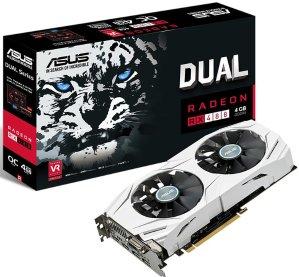 $134.99(原价$229.99)VR神卡惊爆价!ASUS Radeon RX 480 Dual O4G 显卡
