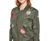 Kazra Patches Bomber Jacket | GbyGuess.com