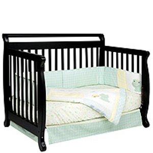 DaVinci Emily 4-in-1 Convertible Crib - Ebony - DaVinci - Babies