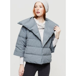 Heathered Puffer Jacket