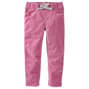 Kid Girl Pull-On Skinny Cords | OshKosh.com