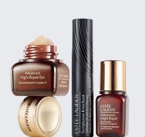 Today Only! 25% off set sale one online orderUp to 6 deluxe samples @ Estee Lauder