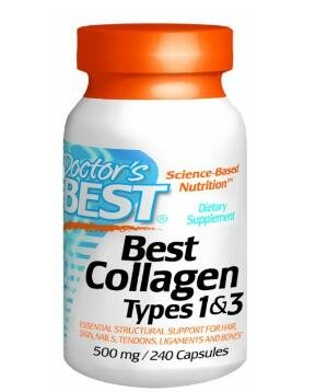 $8.54 Doctor's Best Collagen Dietary Supplement Types 1 and 3 240 Count