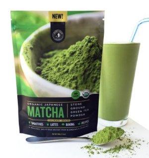 Jade Leaf - Organic Japanese Matcha Green Tea Powder, Culinary Grade (For Blending & Baking)