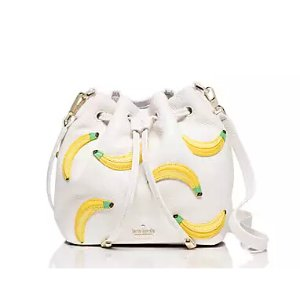 $179.00(reg.$298.00) kate spade Flights of Fancy Bananas Mini Bucket Bag