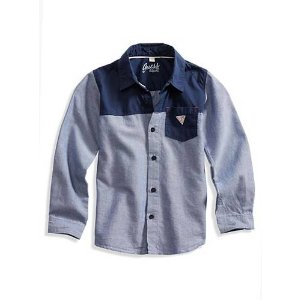 Oxford Shirt (2-5xy) | GUESS.com
