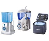 Waterpik Water Flosser and Nano Flosser with Cases and 12 Tips