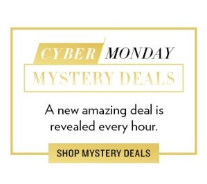 Cyber Monday Mystery Deals New Offers Reveled Hourly @ 6PM