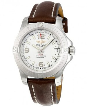 BREITLING Colt 36 Silver Dial Ladies Watch A7438911G803BRLT