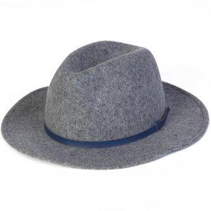 Wool Panama Hat - Grey Heather
