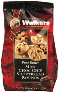 Shortbread Mini Chocolate Chip Shortbread Rounds, 4.4-Ounce Bags (Pack of 6)