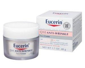 Eucerin Q10 Anti-Wrinkle Sensitive Skin Creme, 1.7 Ounce