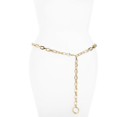 MICHAEL Michael Kors 'Logo Drop' Chain Belt | Nordstrom