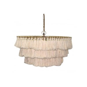 Justina Blakeney Fela Tassel Chandelier - Lighting