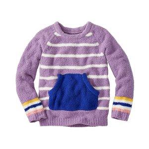 Girls Stripey Marshmallow Sweater   Gift Guide Girls