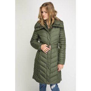Andrew Marc Katy Down Chevron Knee Puffer Coat | South Moon Under