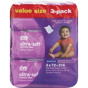 CVS Health Ultra Soft Cleansing Wipes Solo SoftPak - CVS.com