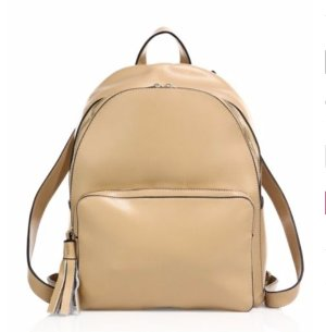 59.99KC JAGGER Sutton Leather Backpack