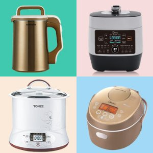 Up to 12% OffJoyoung Soy Milk Maker, Electric Stewpot, Midea Rice Cooker Sale @ Huarenstore