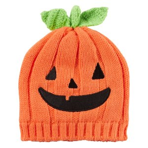 Baby Girl Knit Pumpkin Hat | Carters.com