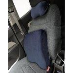 LANGRIA Double Use Ergonomic Memory Foam Lumbar Cushion