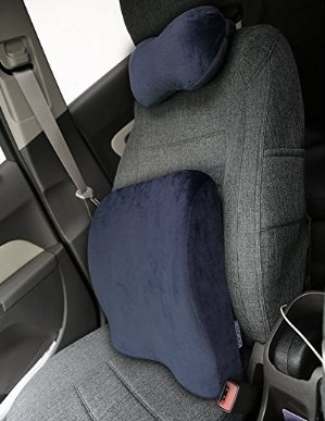 $19.99LANGRIA Double Use Ergonomic Memory Foam Lumbar Cushion