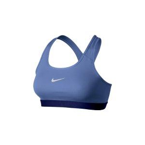 Women's Nike Pro Classic Bra- White - Women's Running Sports Bra