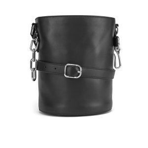 Alexander Wang Women's Alpha Soft Bucket Bag - Black - Free UK Delivery over £50