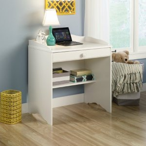Sauder Storybook Desk, Soft White