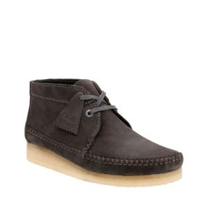 Weaver Boot Charcoal Suede