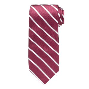 Executive Regimental Pencil Stripe Tie CLEARANCE - Ties   Jos A Bank