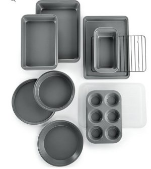 Tools of the Trade 10-Pc. Bakeware Set