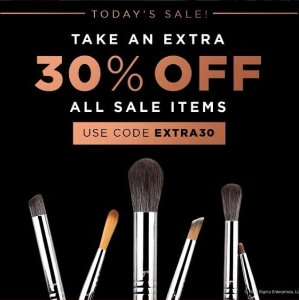 Extra 30% Off + Free Shipping Sale Items @ Sigma Beauty