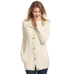 Women's Bailey Island Sweater, Button-Front Cardigan   Now on sale at L.L.Bean