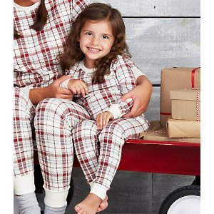 Kids Plaid Pajama Set