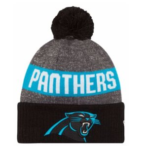 New Era NFL Sideline Sport Knit - Men's - Accessories - Carolina Panthers - Multi
