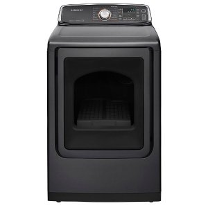 Samsung 7.4 cu. ft. Electric Dryer with Steam in Platinum, ENERGY STAR-DV52J8700EP - The Home Depot