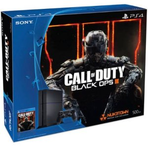 $299.99 Free $50 GC! PlayStation 4 500GB Console Bundle with Call of Duty Black Ops III