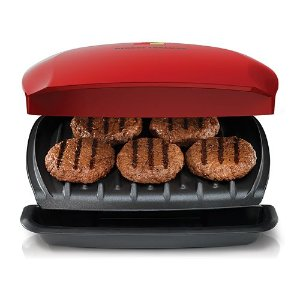 2016 Black Friday! $25.49+$10MIR George Foreman 5-Serving Classic Plate Grill
