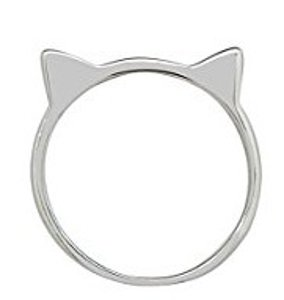 Cat Ear Ring by Silver Phantom Jewelry