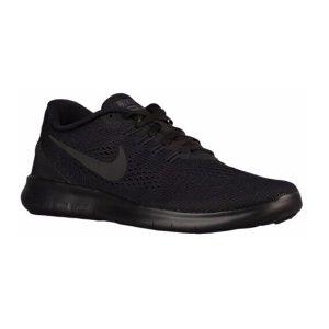Nike Free RN - Men's - Running - Shoes - Black/Black/Anthracite