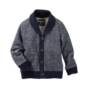 Toddler Boy Marled Shawl Collar Cardigan | OshKosh.com