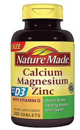 买1送1 + 满 $50 再减 $10Walgreens 精选Nature Made 钙片等保健品热卖