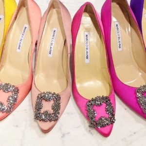 Up to 20% Off Manolo Blahnik Shoes On Sale @ Rue La La