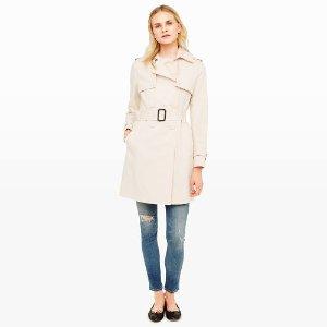 Womens   Coats and Trench Coats   Farzin Trench Coat   Club Monaco