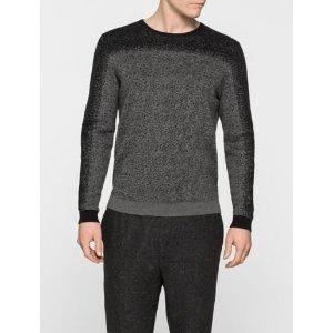 Calvin Klein sanford heathered 男士毛衣