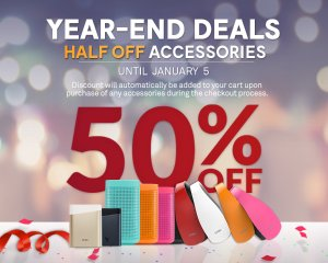 50% offEnd of Xmas Accessory Clearance
